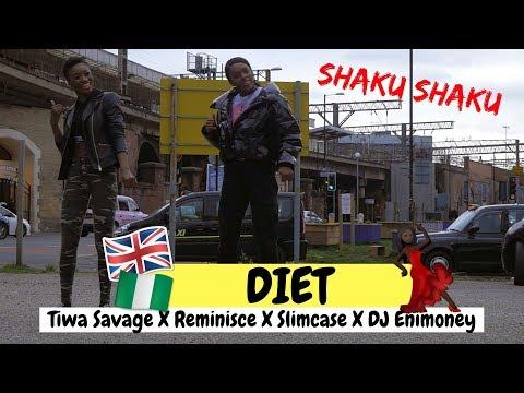 Diet - Tiwa Savage X Reminisce X Slimcase X DJ Enimoney | DANCE COVER | @itsjustnife & @reginaeigbe