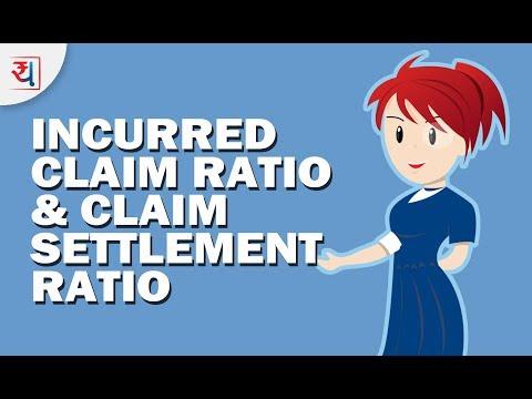 Incurred Claim Ratio & Claim Settlement Ratio - Health Insurance In India | ICR Vs CSR
