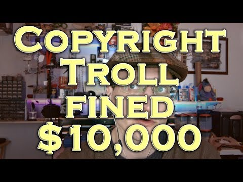 """Copyright Troll"" Lawyer Fined $10,000 for Misrepresentations to Court"