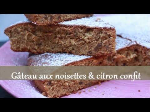 gâteau-aux-noisettes-et-au-citron-confit