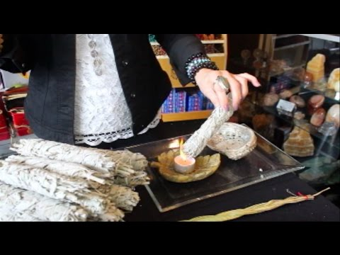 How To Use Sage & Palo Santo - Smudging Tutorial