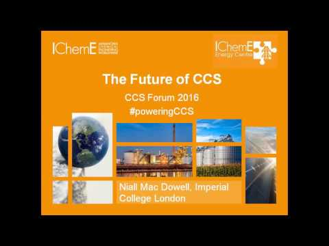 The Future of CCS - Report Launch, 27 July 2016, London UK