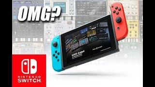OMG Korg Gadget on Nintendo Switch!!!