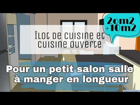 Agrandir Un Petit Salon Salle A Manger De 20m2 Avec Une Cuisine