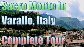 Sacro Monte in Varallo Sesia, Italy