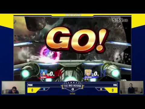 Big House 6: Prime (Diddy/Sonic) vs PonJ (Cloud)