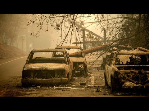 A harrowing scene: Reporter describes the chaotic evacuation from Paradise, California