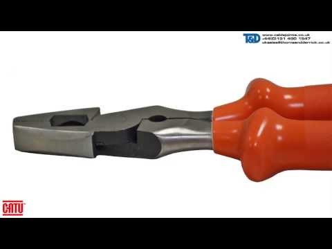CATU MO-66005 Universal Insulated Pliers - CATU Low Voltage Insulated Tools