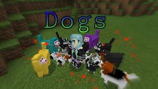Новые питомцы Minecraft/ мод на собак