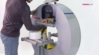 水平式膠膜裹包機FV300 50  膠膜裹膜機【FROMM富朗包裝】 裹膜機 纏繞機 裹包機