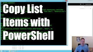 Using PowerShell to work with SharePoint Lists