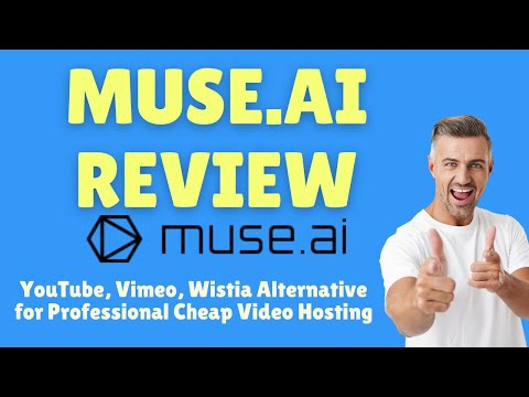 Muse Ai Review: YouTube, Vimeo, Wistia Alternative for Professional Cheap Video Hosting thumbnail