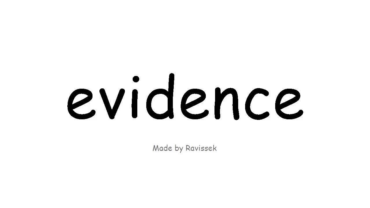 beweis auf englisch