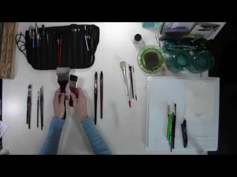 Watercolor supplies - Brushes (Part 2 of 4)