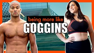Trying to be a little bit more like DAVID GOGGINS for a week || 100lb Weight Loss Journey