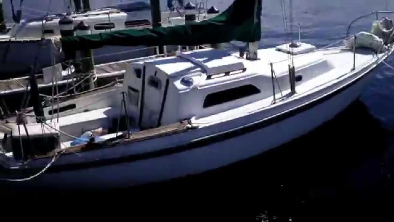 MY LIVEABOARD SAILBOAT ITS A 26 FOOT PEARSON YACHT