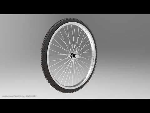 Solidworks tutorial | How to make Bicycle wheel in Solidworks