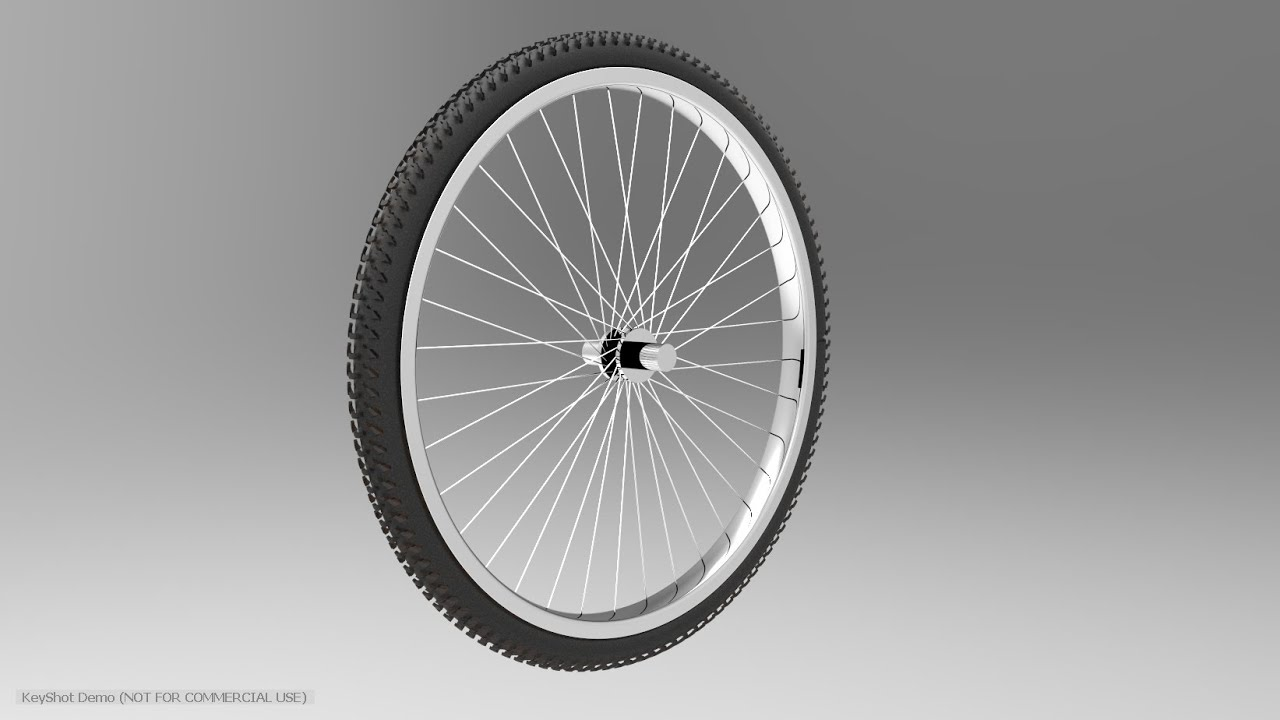 Solidworks tutorial how to make bicycle wheel in for Making bicycle wheels