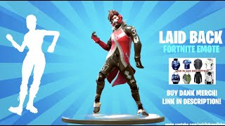 FORTNITE LAID BACK SHUFFLE EMOTE 1 HORA (DESCARGA MUSICA INCLUIDA!)