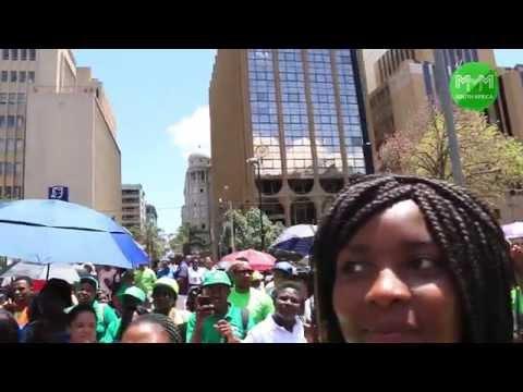 Economic Freedom Walk vers#1, Johannesburg - MMM South Africa (21 November 2015)