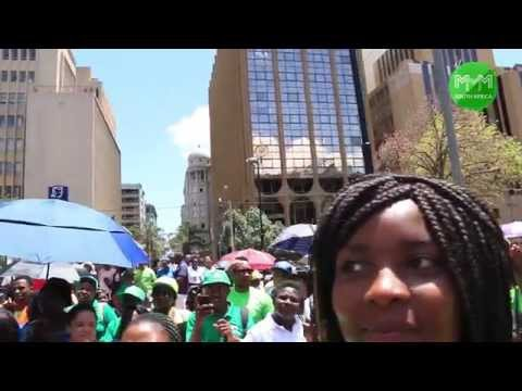 Economic Freedom Walk vers#1, Johannesburg – MMM South Africa (21 November 2015)