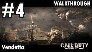 Call of Duty: World at War - Mission 4 - Vendetta (Walkthrough)