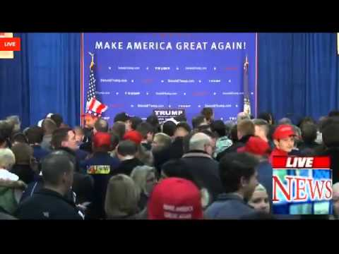 LIVE Donald Trump Nashua New Hampshire Rally at Pennichuck Middle School on December 28, 2015
