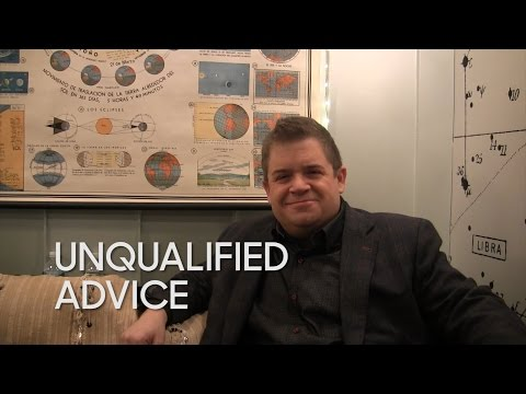 Unqualified Advice: Patton Oswalt