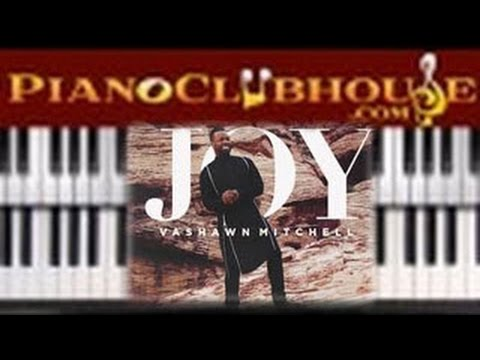 "🎹 How To Play ""JOY"" By Vashawn Mitchell (easy Gospel Piano Tutorial Lesson)"