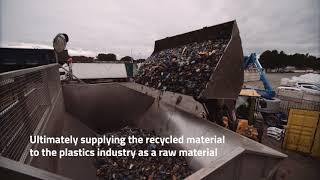 Het proces van plastic recycling bij Van Werven
