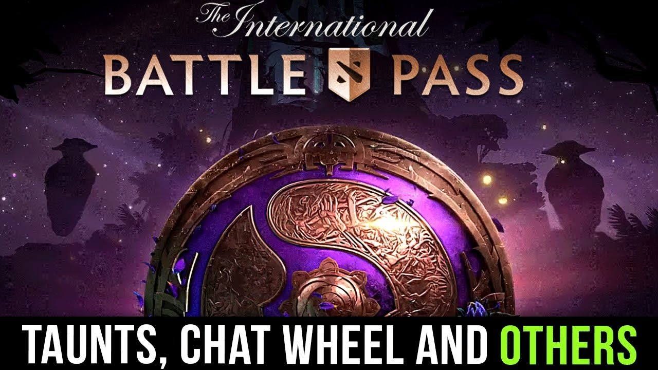 THE INTERNATIONAL 2019 COMPENDIUM - TI9 BATTLE PASS FULL