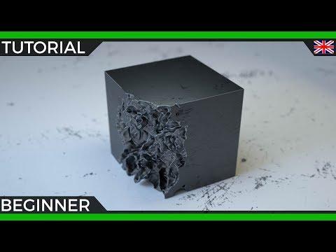 Cinema 4D R20 Tutorial | Volume Disolve Effect with Fields