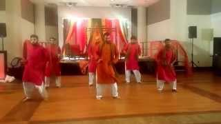 Aniq & Huma Wedding - Best Mehndi Dance Routine 2015