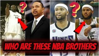 NBA Brothers You Didn't Know *SHOCKING*
