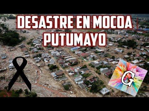 DESASTRE  EN MOCOA/PUTUMAYO noticias RCN #fuerzasmocoa