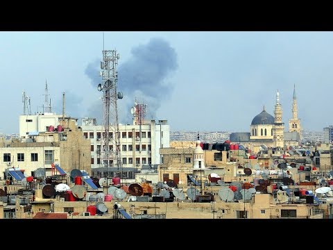 Mother's Day massacre: Militants shell Damascus market