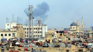Mother's Day massacre: Militants shell Damascus market