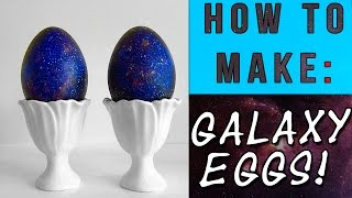 How To Make: Galaxy Eggs (dragon Eggs)