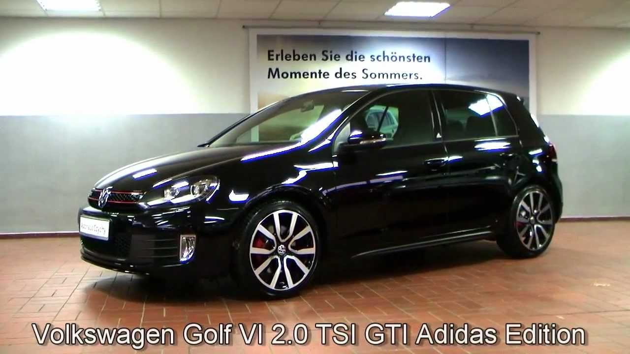 volkswagen golf vi 2 0 tsi gti adidas dsg 2011 schwarz bw322461 sportsitze bi xenonscheinwerfer. Black Bedroom Furniture Sets. Home Design Ideas