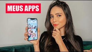 O que tem no Meu Iphone (Melhores aplicativos) Iphone 11 Max | Stephanie Garcia