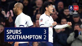 Tottenham 3-2 Southampton | Emirates FA Cup highlights