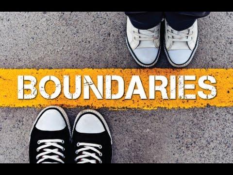 2016.10.09: Boundaries - Defining Boundaries