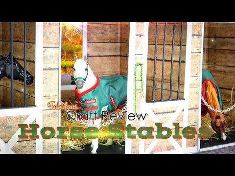 Fabulous Craft Review: Doll Horse Stables