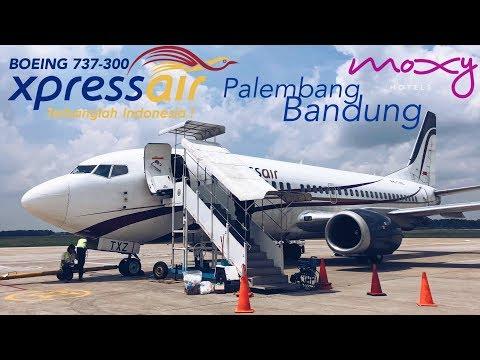 XPRESS AIR Flight XN741 + Jalan2 di Bandung + MOXY Hotel VLOG