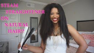 DOES THAT STEAM STRAIGHTENER REALLY WORK!?