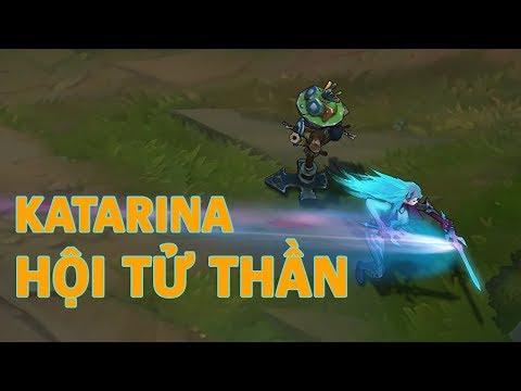Trang phục mới Katarina Hội Tử Thần (Death Sworn Katarina) - Liên Minh Huyền Thoại