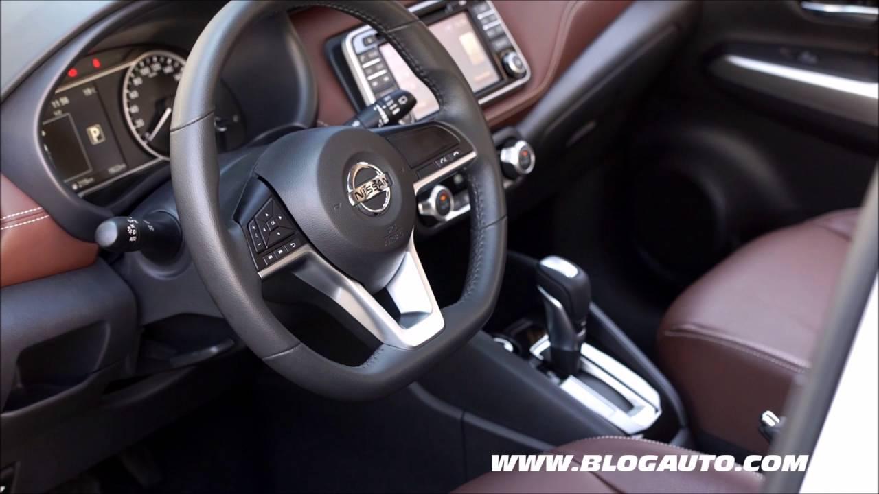 Conhe 231 A Todo O Interior Do Nissan Kicks 2017 Blogauto