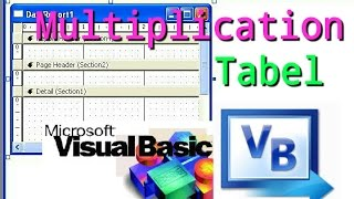 create multiplication table in visual basic || visual basic tutorial