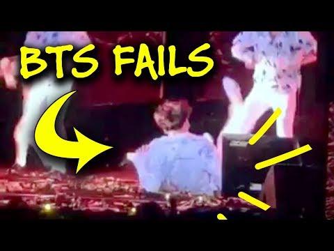 BTS Epic Fails 🤣🤣🤣