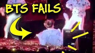 BTS Epic Fails